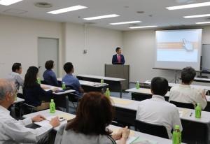 大阪商工会議所のSEOセミナーの様子