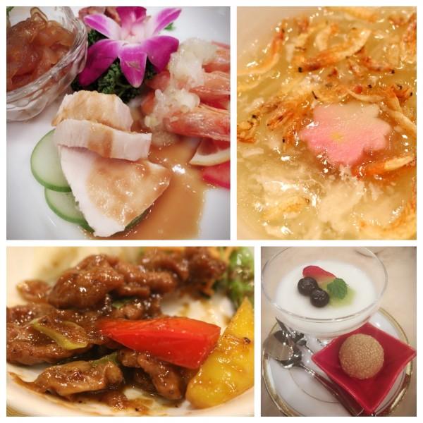 ホテル阪神大阪「香虎」様での食事