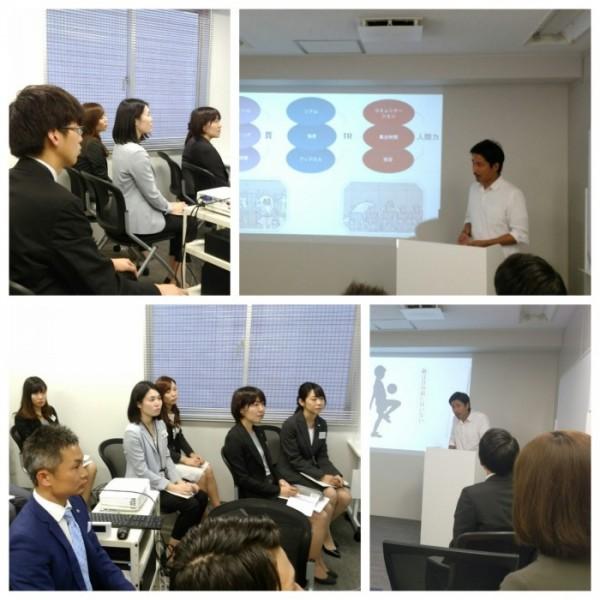 【社員研修の様子】フットサル元日本代表選手「松宮充義」さんをお招きしての講演の様子を紹介します。